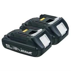 MAKITA BL18202 Battery Pack,18V,LiIon, Rechargeable, PK2 G85