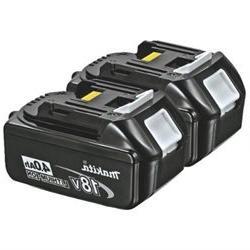 MAKITA BL18402 Battery Pack,18V,Rechargeable, PK2 G8519822