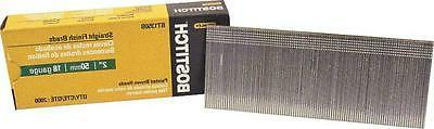 "NEW BOSTITCH BT1350B BOX 2000 18 GAUGE 2"" BROWN BRAD NAILS 6"