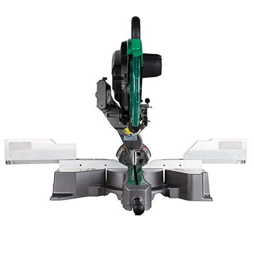 Dual Bevel Sliding Compound Miter Saw with Marker