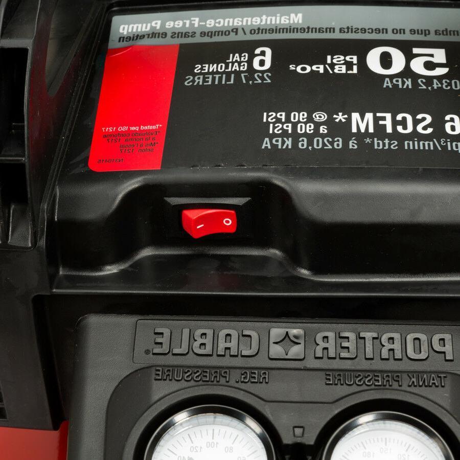 Porter-Cable C2002 PSI 6 Gallon Air