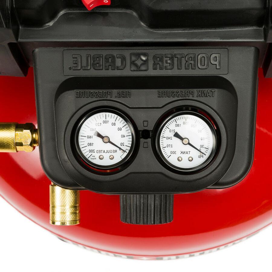 Porter-Cable C2002 6 Gallon Oil-Free Air Compressor