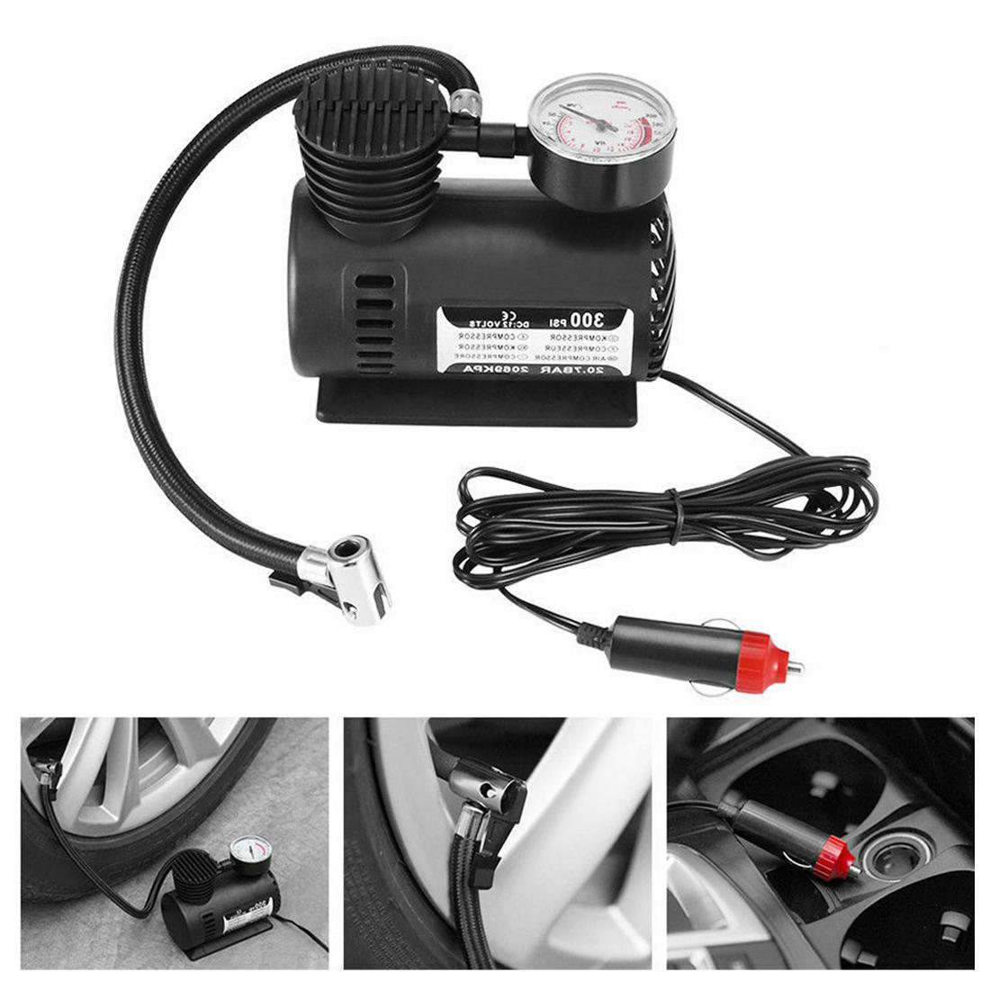 Car Automotive Vehicle <font><b>Mini</b></font> 300 Pump 12V Universal
