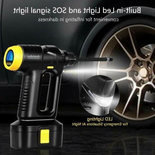 Car Air Compressor Tire Digital Auto Tyre 150PSI