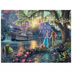 Ceaco Thomas Kinkade Disney Princess and the Frog Jigsaw Puz