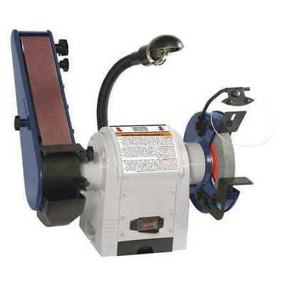 DAYTON Combination Belt and Bench Grinder,120V, 49H006