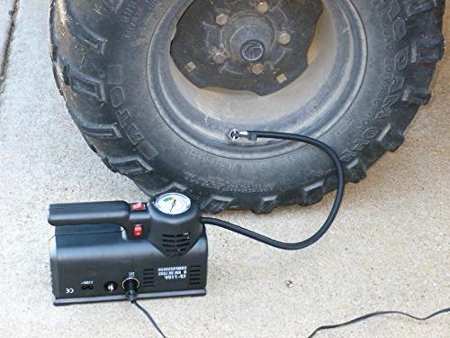 Kensun AC/DC Heavy Duty Multi-Function Tire Inflator