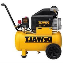Dewalt D55166 6 Gallon Wheeled Horizontal Air Compressor