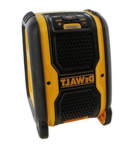 Dewalt MAX Cordless Lithium-Ion Bluetooth Speaker