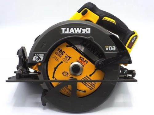 "NEW DEWALT DCS575B 7 1/4"" Circular Saw FLEXVOLT 60V MAX  BRU"