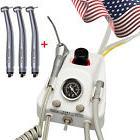 Dental Portable Turbine Unit Work to Compressor Syringe +3 F