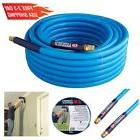 50 Ft Durable PVC Air Hose Tool 3/8 Inch Compressor Garage W