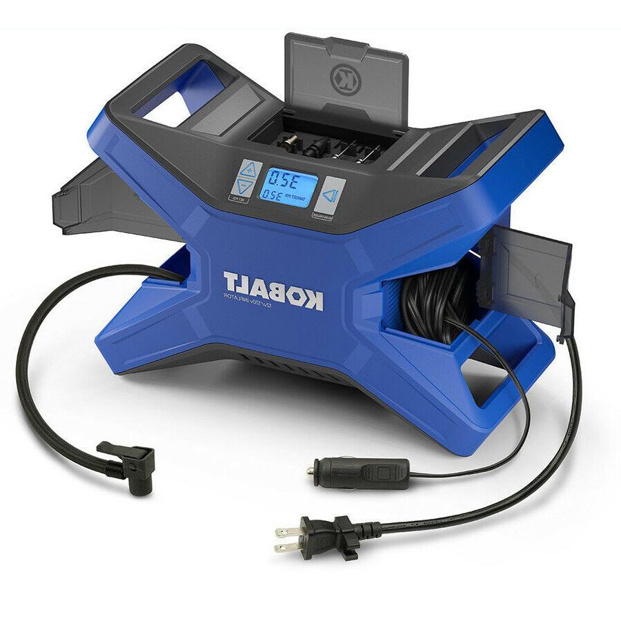 KOBALT Electric Portable Air Compressor 120 PSI 12 Volt & 12