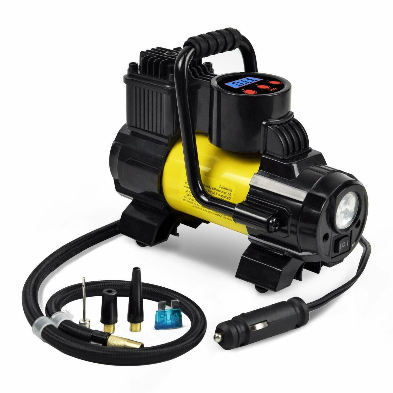 5Heavy Duty Portable Air Compressor Electric Auto