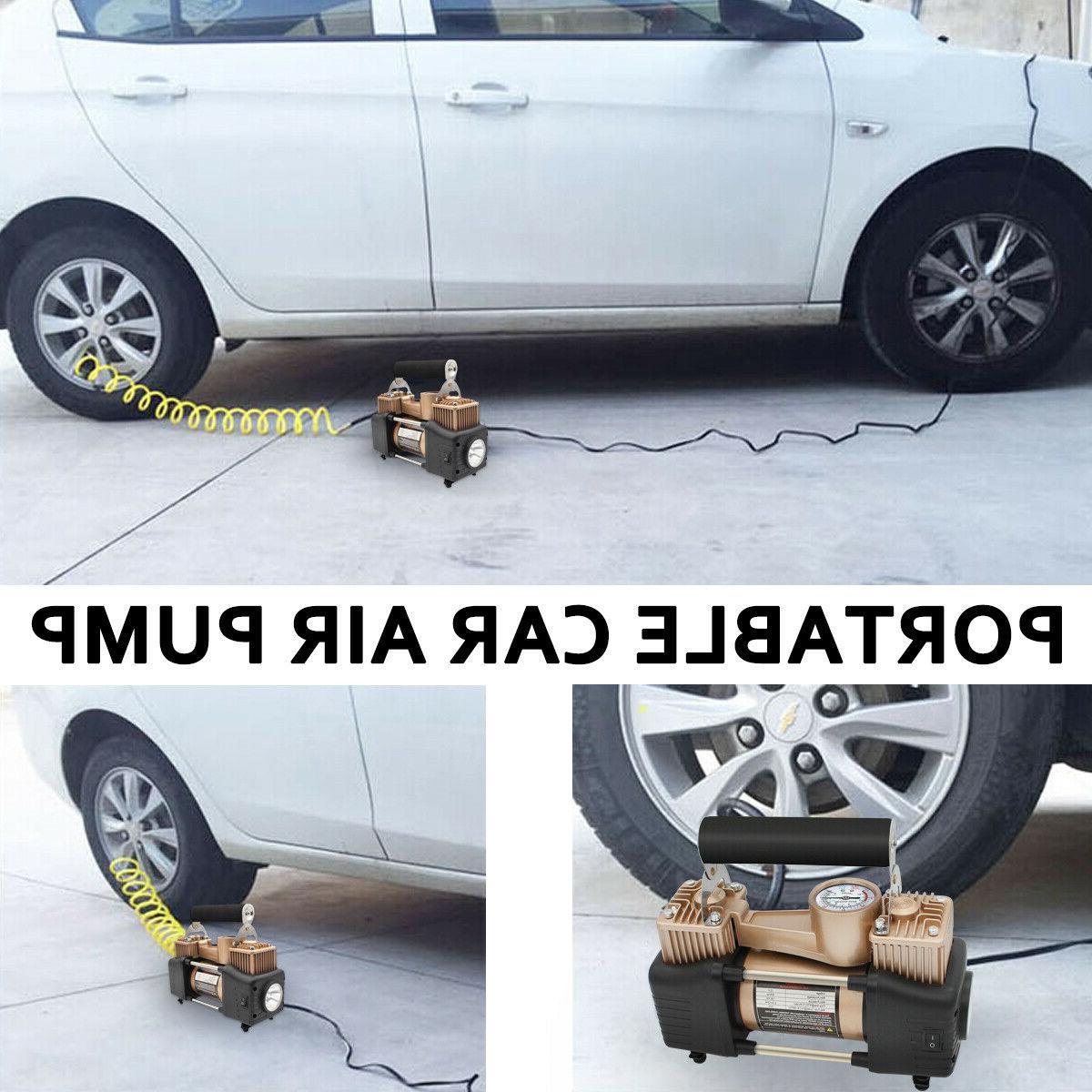 Heavy 150PSI Tyre Auto Tire Pump Compressor
