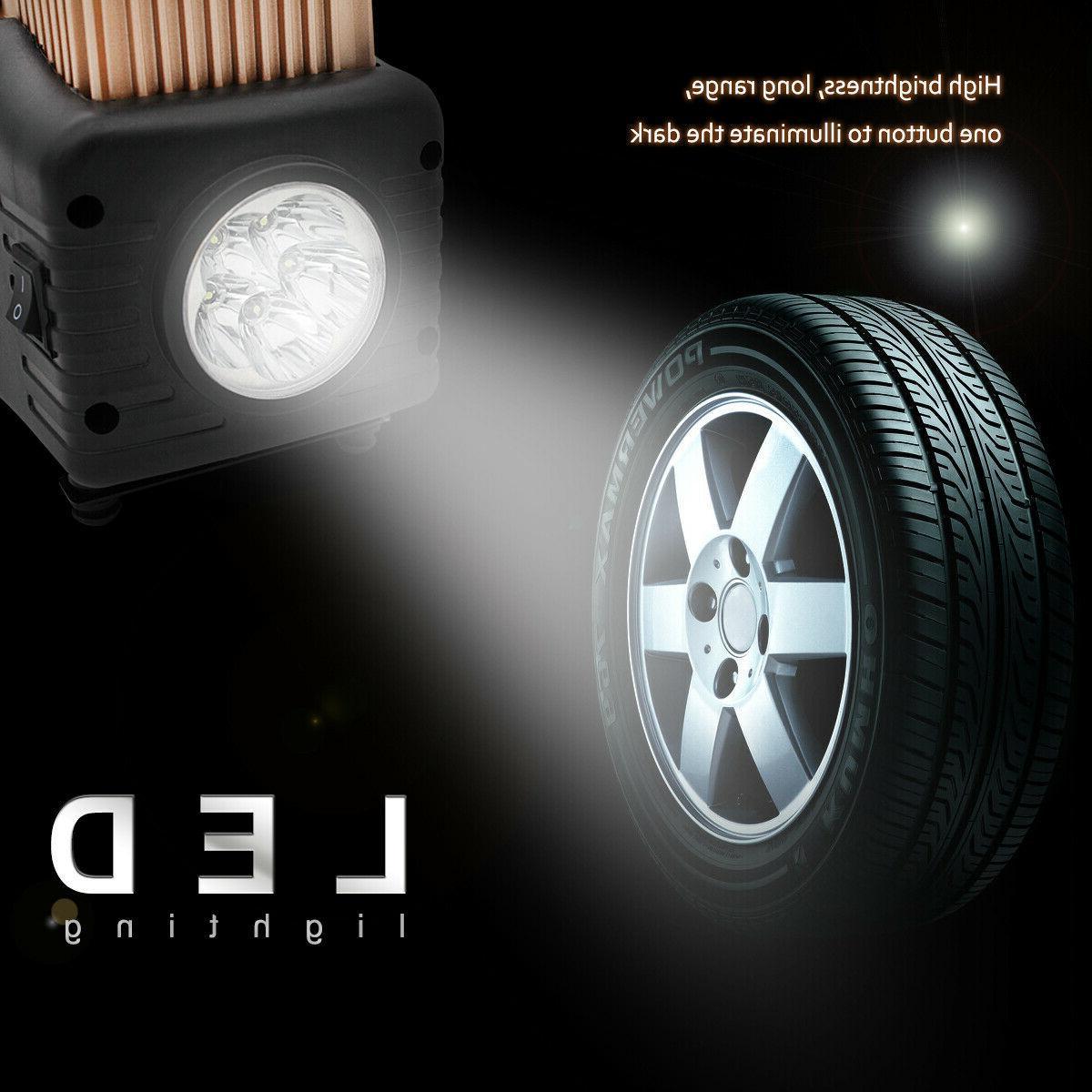 HEAVY Compressor Car Tire Pump Inflator Double
