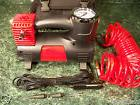12 Volt Heavy Duty AIR COMPRESSOR with STORAGE BAG, HOSE and