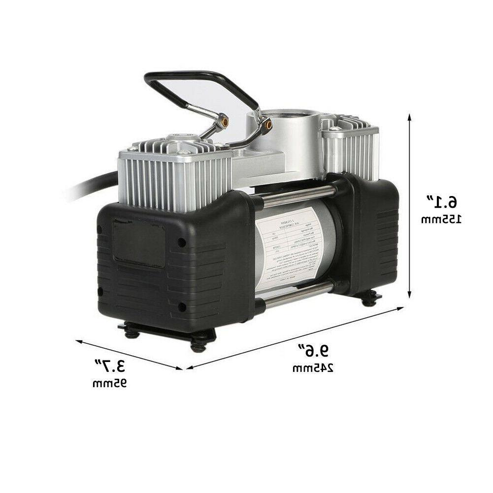 12V Air Compressor Auto Tire 150PSI