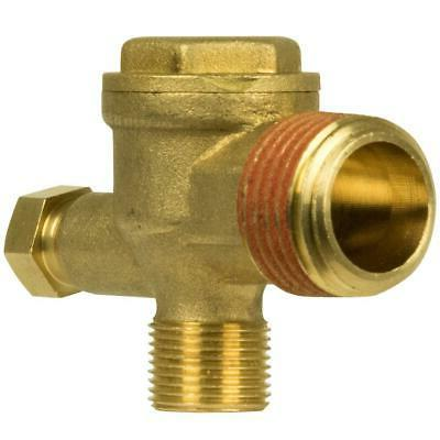 HUSKY Brass Check Valve Air Compressor Replacement Long Last