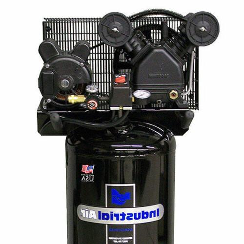 20-Gallon Belt Compressor With