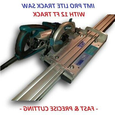 IMT PRO LITE Makita motor Rail, Track Saw kit with 12 Ft tra