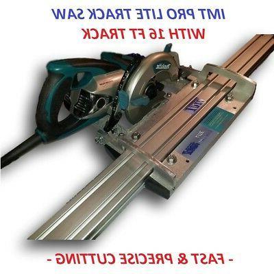 IMT PRO LITE Makita motor Rail, Track Saw kit with 16 Ft tra