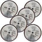 "6x  7-1/4"" inch 40T Carbide Tipped Circular Saw Blade fit Bo"