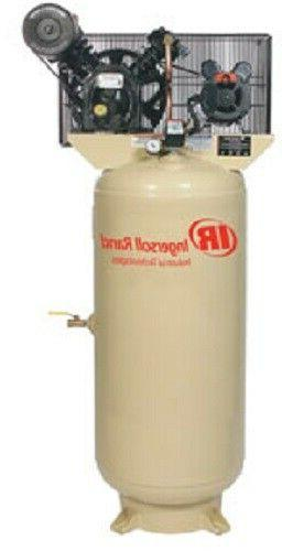 Ingersol Rand 5HP 230/1 2340L5-V Two Stage Cast Iron Air Com