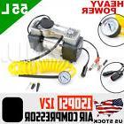 LATEST Car Portable Electric Air Compressor Tire Inflator Pu