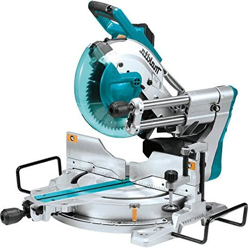 """Makita LS1019LX 10"""" Dual-Bevel Sliding Miter with Stand"""