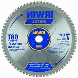 Irwin - Metal Cutting Circular Saw Blades 7 1/4 68T Mc - Thi