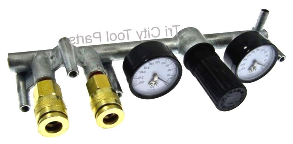 N028208  DEWALT  Air Compressor Manifold  N028208SV  ** Genu