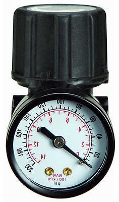 New 150 PSI Air Compressor Regulator Kit With Gauge