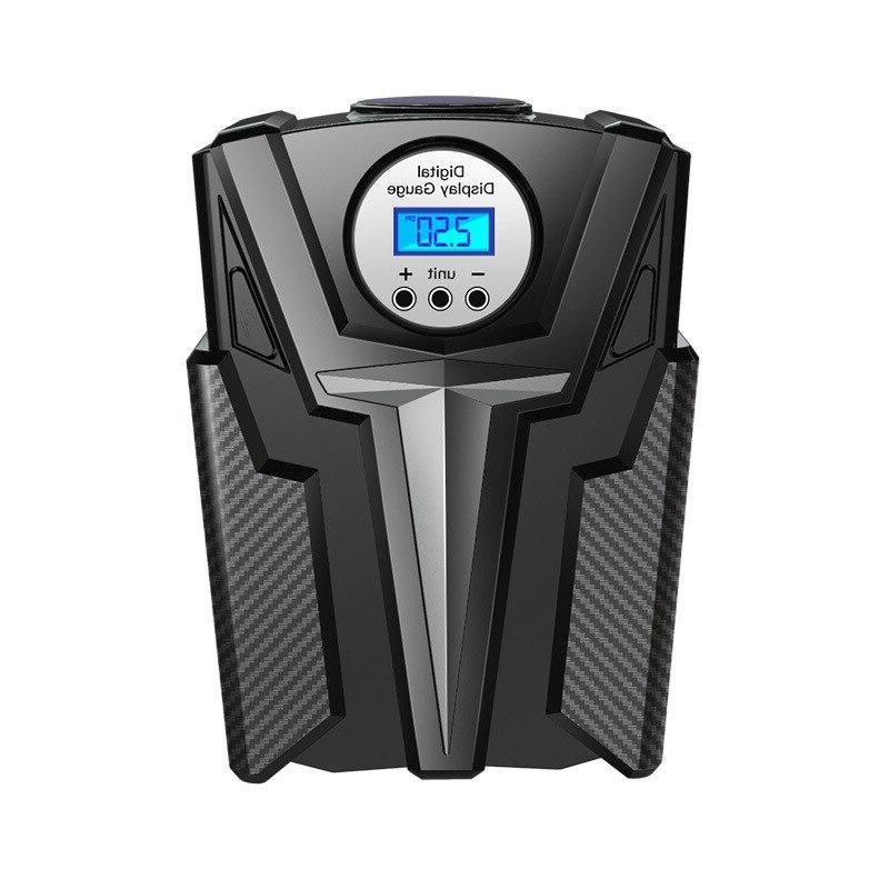 New Digital Inflator Pump Car <font><b>Air</b></font> Pump Aire Pump Car Motorcycle LED