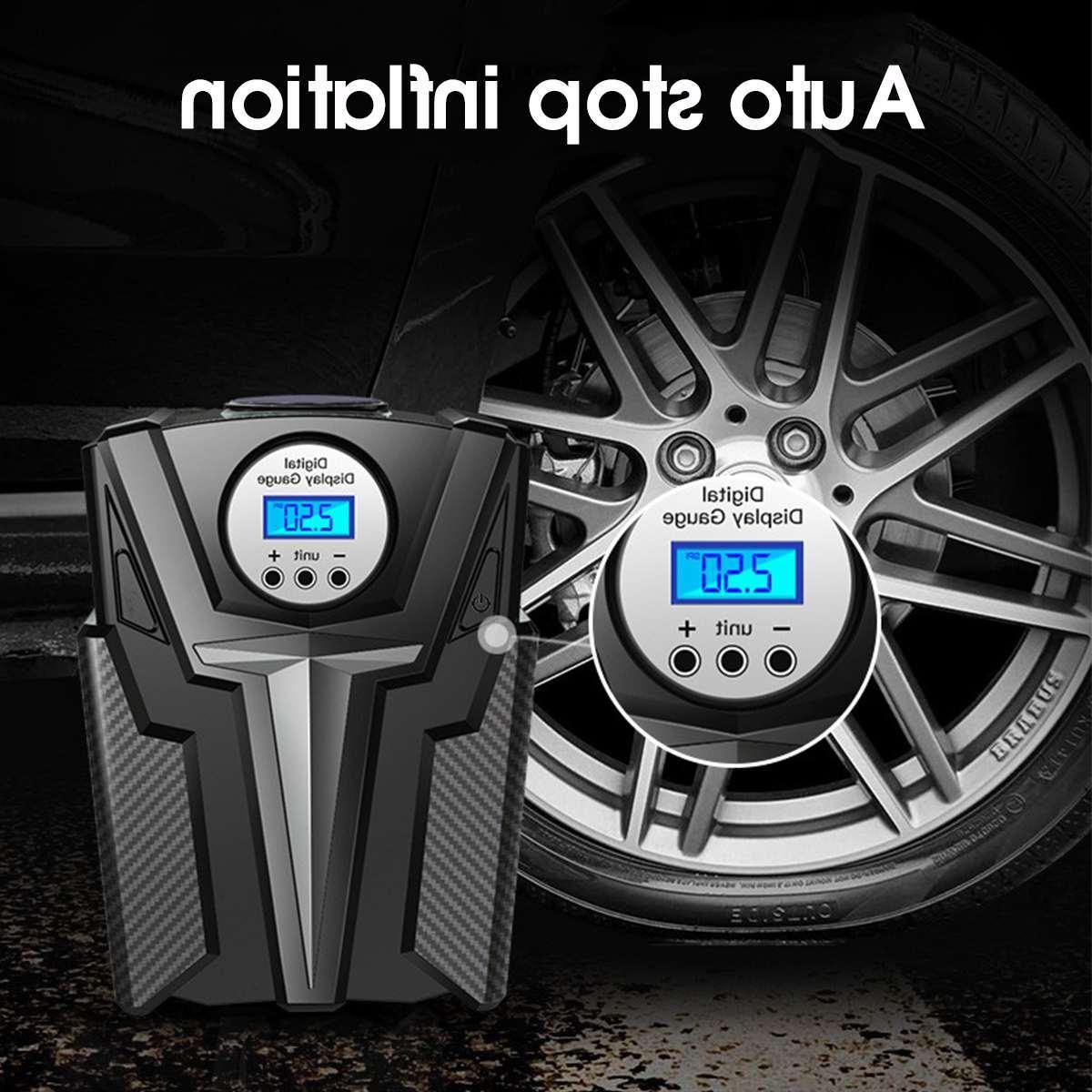 New Inflator Pump DC 12 Volt Car Portable <font><b>Air</b></font> Pump 150 Aire for Motorcycle LED Light