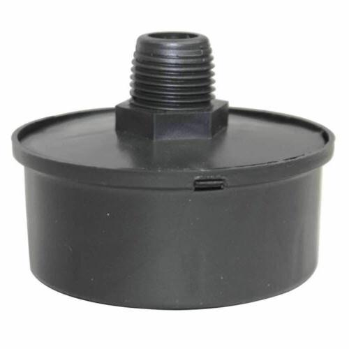 "1/2"" NPT Intake Filter For Air Compressor Head"