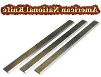 """12 x 1-1/8 x 1/8 HSS Planer Blades - Grizzly 12"""" - Set of 3."""