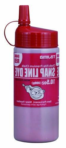 Tajima PLC3-DR300 Snap Line Dye, 10.5 Ounce, Red