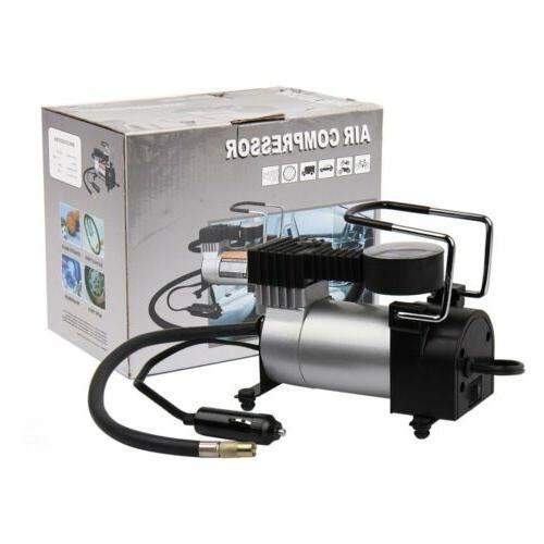 Portable Car Pump 12V 150PSI w/Gauge