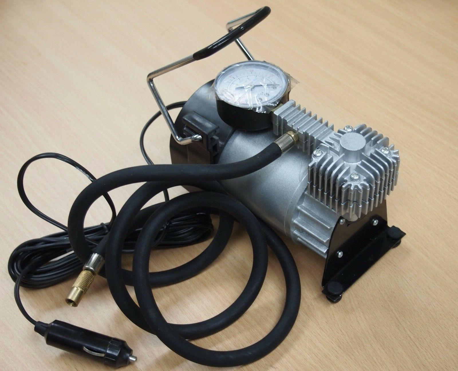 portable 12v air compressor pump 150psi tire