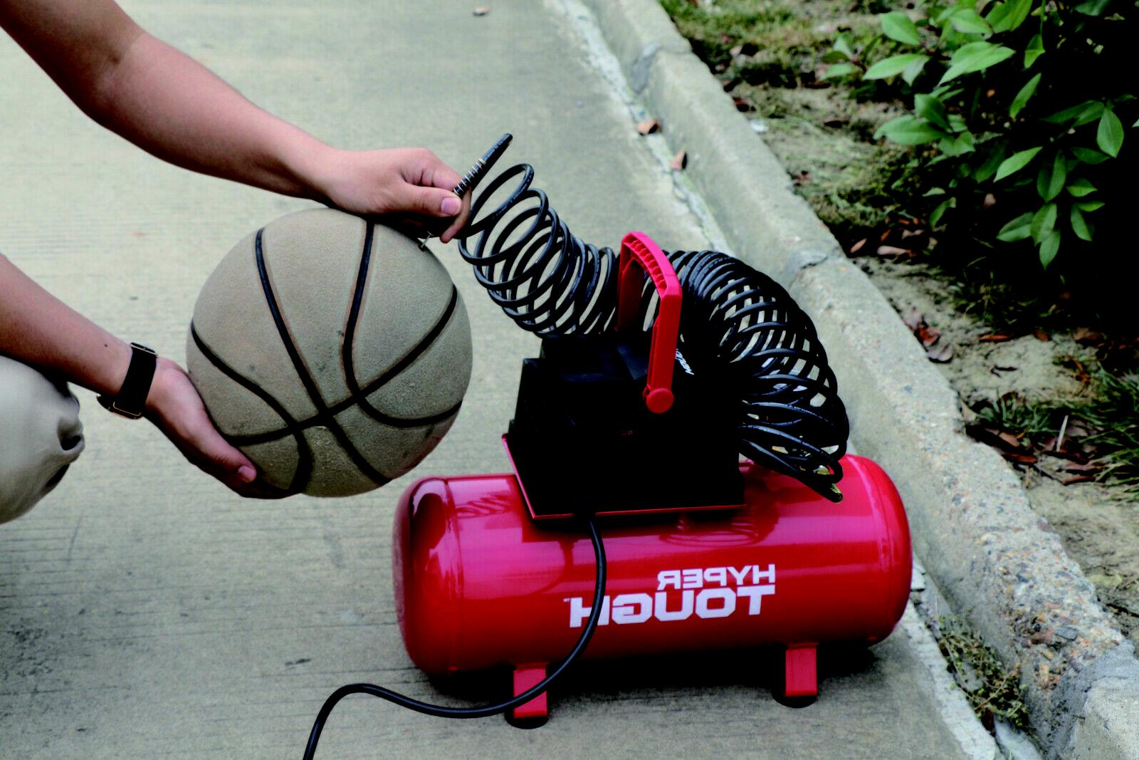 Portable Air Compressor Hotdog Free Durable NEW