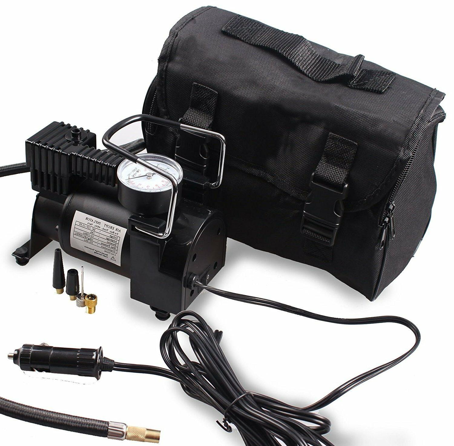 portable air compressor car pump