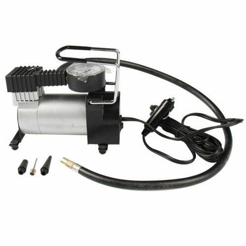 Portable Car Air Tire Pump 12V