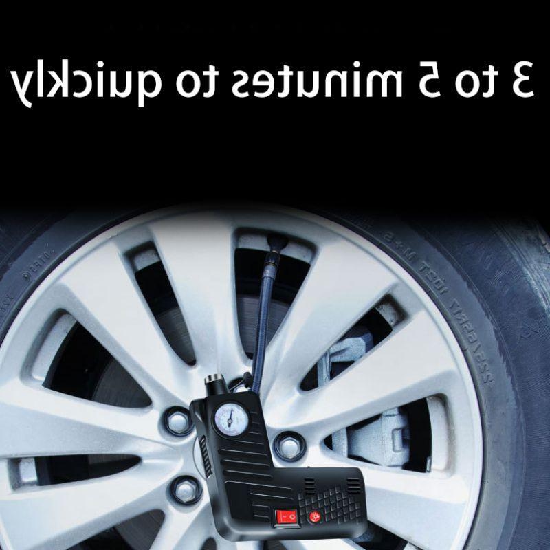 Hot Tire Inflator Electric <font><b>Air</b></font> <font><b>Compressor</b></font> Pump Tool for Car