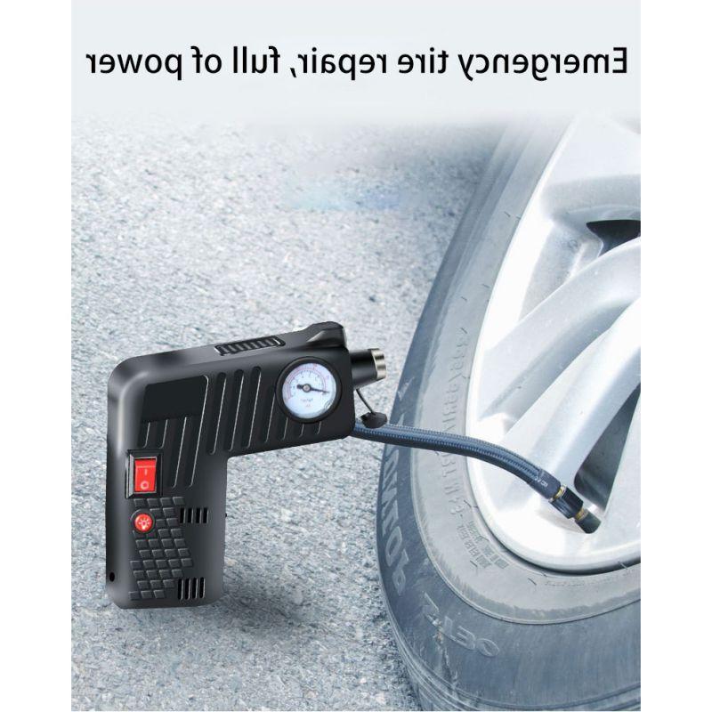 Hot Tire Electric <font><b>Compressor</b></font> Pump Car <font><b>Air</b></font> Pump Emergency Tool for Car Motorcycles Bicycle
