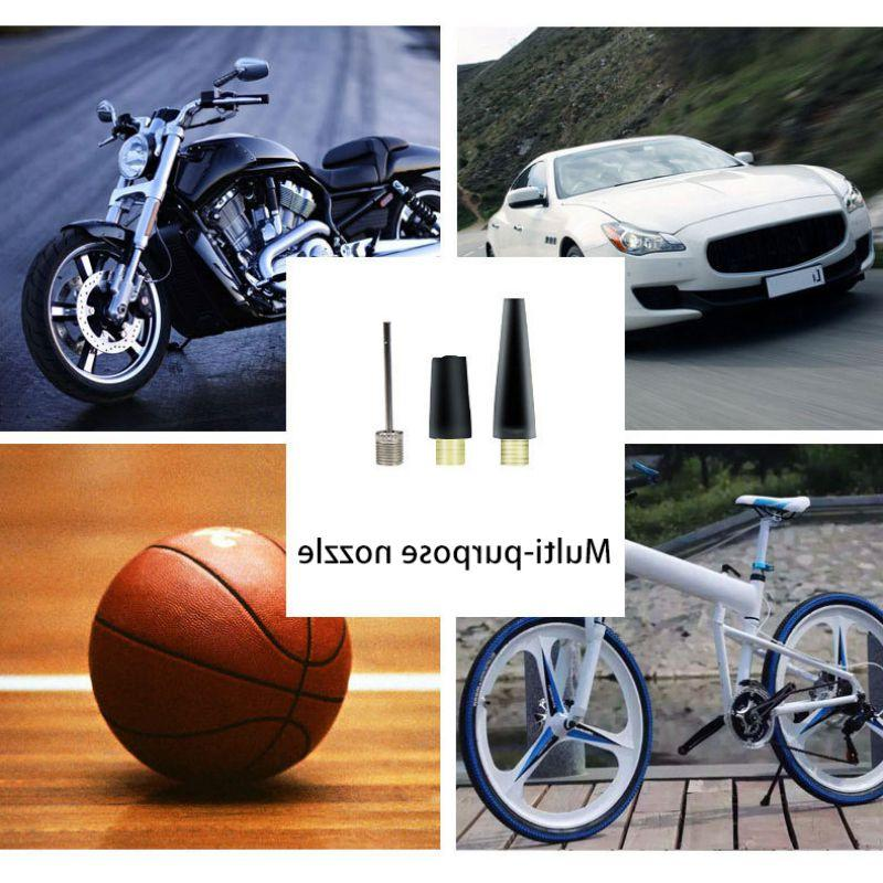 Hot Portable 12V Tire <font><b>Compressor</b></font> Car Pump Emergency for Car Bicycle
