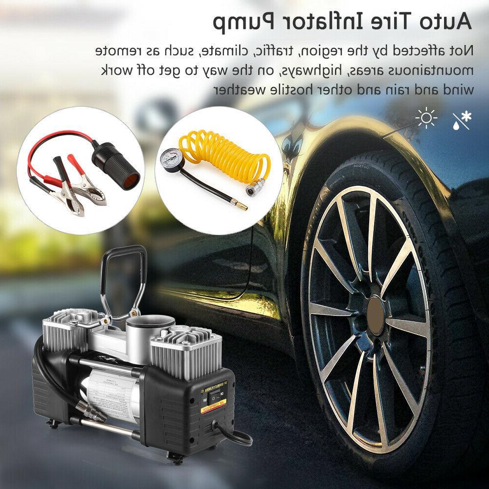 Portable 150PSI Car Auto Tire Inflator Compressor