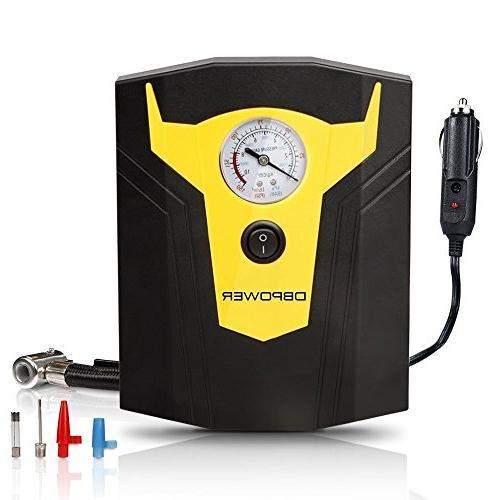 portable electric auto air compressor
