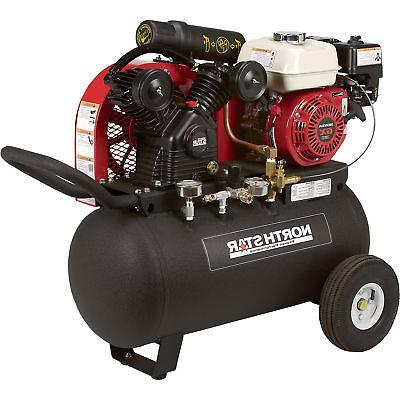 NorthStar Portable Compressor 20-Gal Hor 13.7 90 PSI