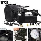 12V Portable Heavy Duty Air Compressor W/ Handle Carry Bag F